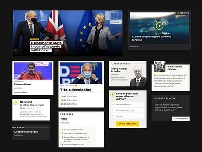 News Design ux design digital newspaper website typography user interface news design news ui