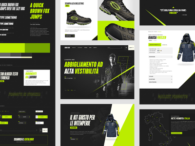 Workwear Ecommerce typography e-commerce clothing workwear website ecommerce graphic design graphic user interface design ux ui