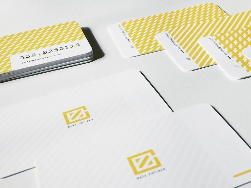 Business Card visual business card yellow me logo brand identity graphic