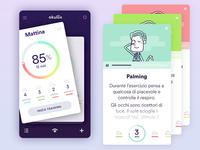 Eye Workout, Mobile App Concept