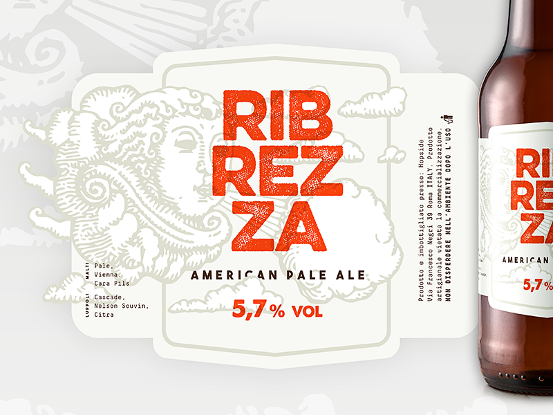 New Label Beer beer label graphic design graphic identity visual packaging label beer