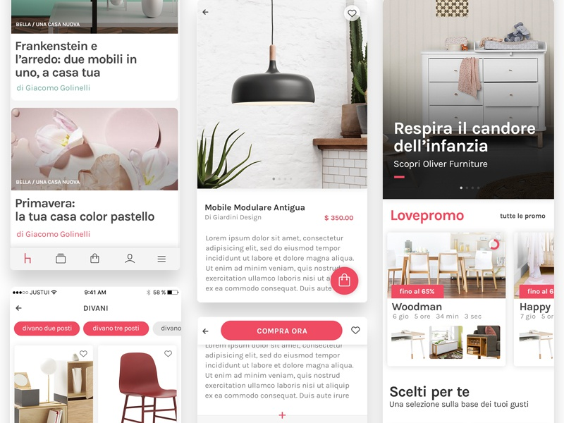 Screen Flow for ecommerce design app typography minimal user interface graphic design colors design ecommerce app mobile ux ui