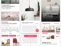Screen Flow for ecommerce design app