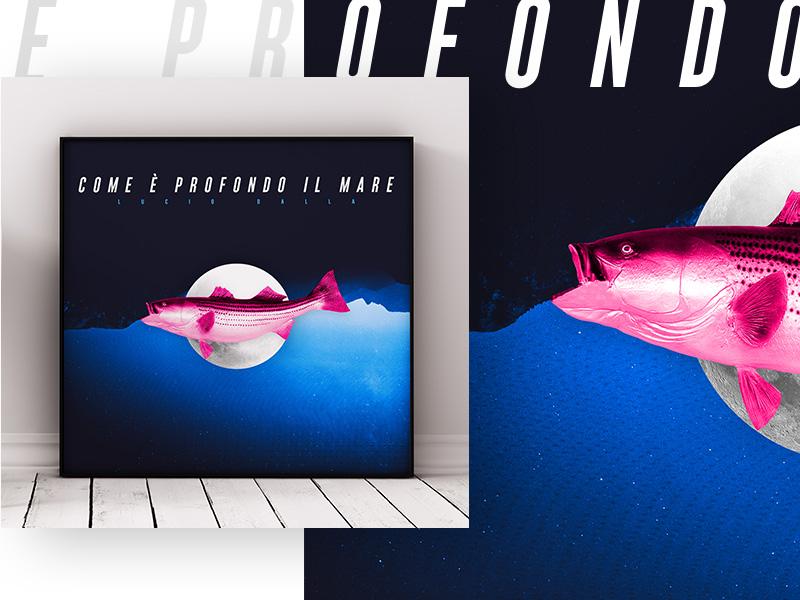 Tribute Cover #italianism contest for Lucio Dalla Album upside down typography poster graphic design contest music cover