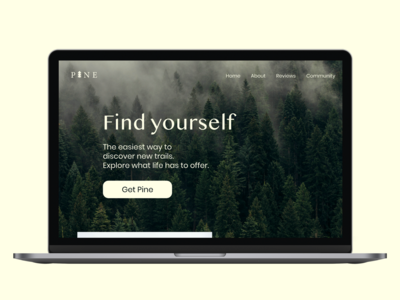 DailyUI 003 Landing Page