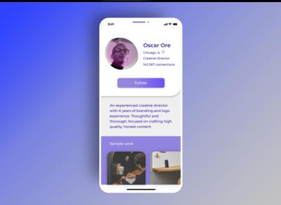 Daily UI 006 Profile Page