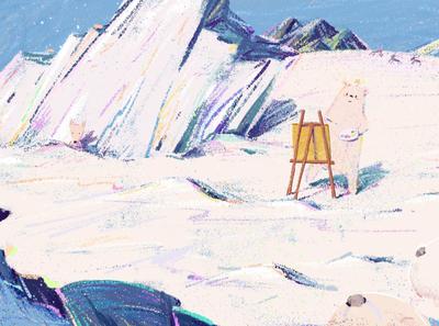 illustrator in the Arctic