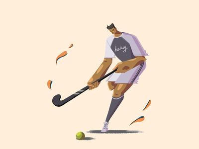 hockey athlete