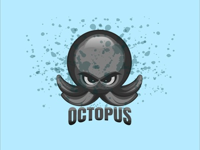 Octopus puangfikar illustrations logodesign logo