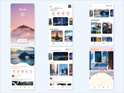 Rebound Travel App 'Triv-Io'
