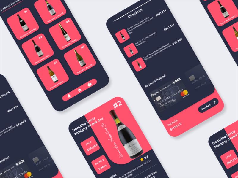 Wine E-commerce App 🍷