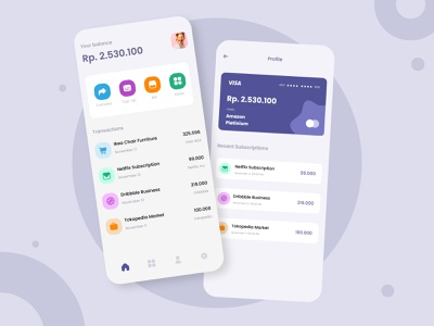 Digital Wallet App Design android app design ui ecommerce android app design uiux design branding ux ui chres
