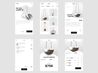 "ecommerce design ""LAMP-O"""