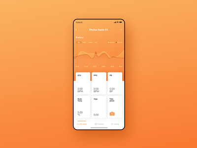 Lifetracker design ux ui app