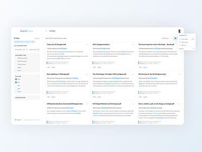 Search Engine Platform website design app ux ui