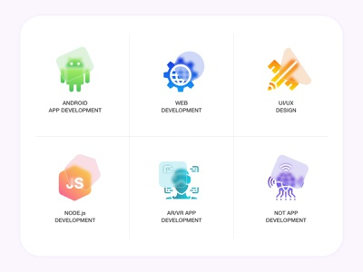 Glass Morphism Icons services glass effect glassmorphism iconography icons