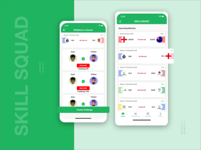 Cricket Mobile Application