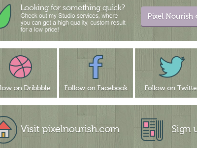 New Envato description graphics pixel nourish marketplace refer social green cta envato graphics