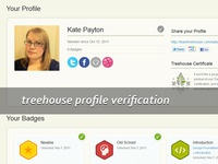 Treehouse Profile Verification