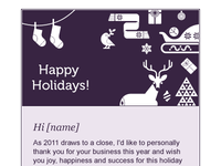 Pixel Nourish - Holiday Card - Header