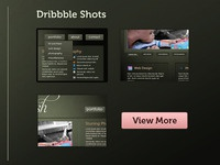 Dribbble Shots - via Half Court Shot