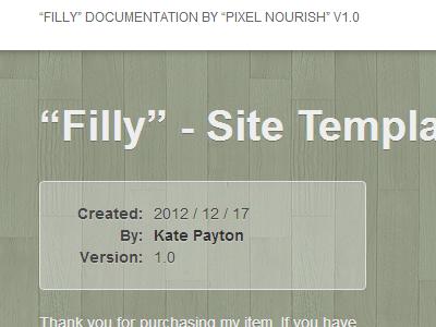Filly - Documentation