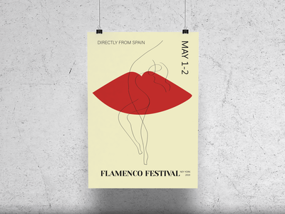 Poster for Flamenco Festival