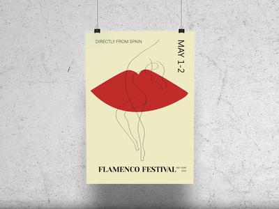 Poster for Flamenco Festival