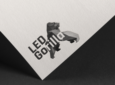 Logo design for company LED Gorilla
