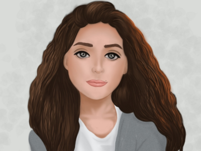 Portrait for beautiful girl