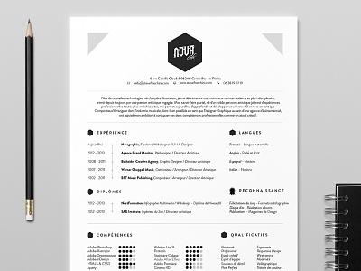 NovaGraphix - 2014 Resume resume icons minimalist cv education design skills profile ui ux webdesign logo
