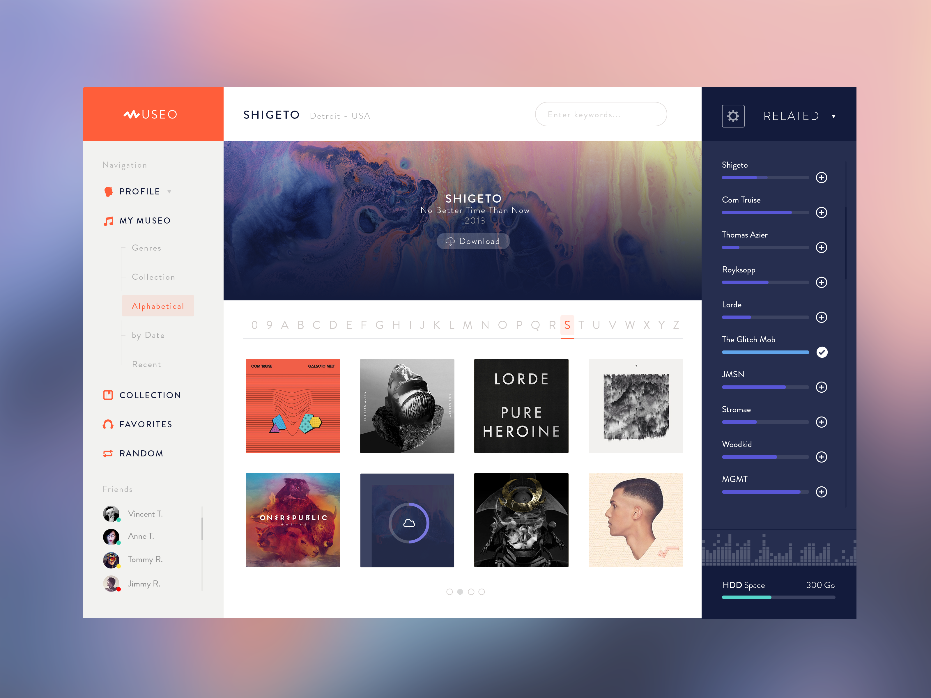 Dribbble - Museo-Desktop-App-v1.png by Steve Fraschini