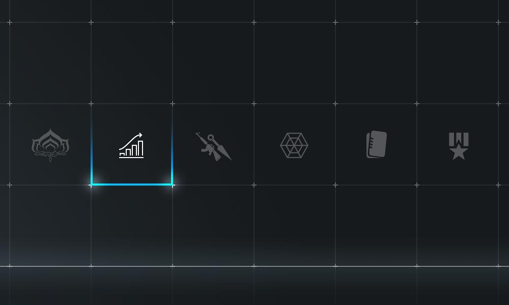 Warframe main menu