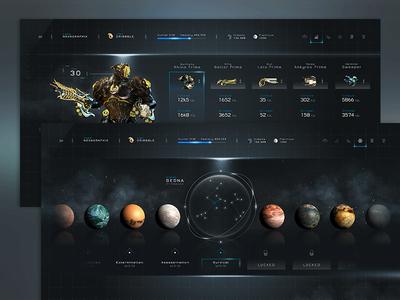 Warframe™ - Statistics & Planets