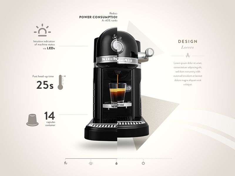 Nespresso By Kitchenaid Specs By Steve Fraschini On Dribbble