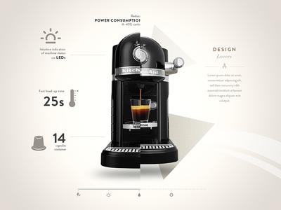 Nespresso by Kitchenaid - Specs