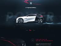 Peugeot fractale main page