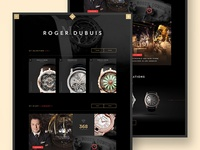 Roger Dubuis - Personal Diary