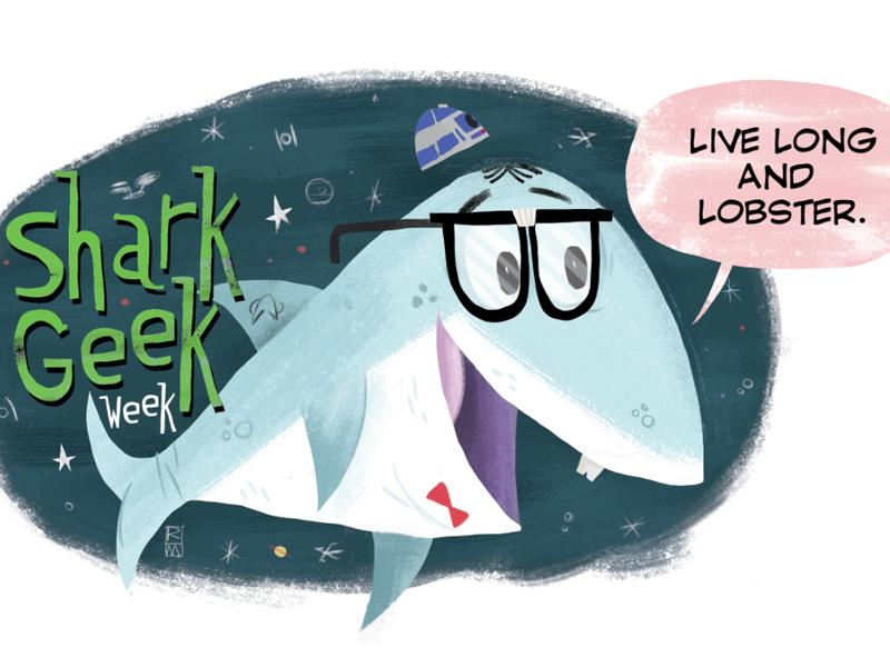 Shark geek week