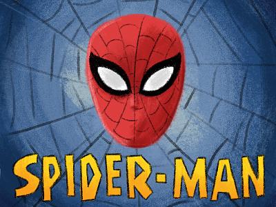 Friendly Neighborhood Spider-Man illustration comic cartoon superhero spider-man spiderman