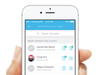 SweepBright iOS App