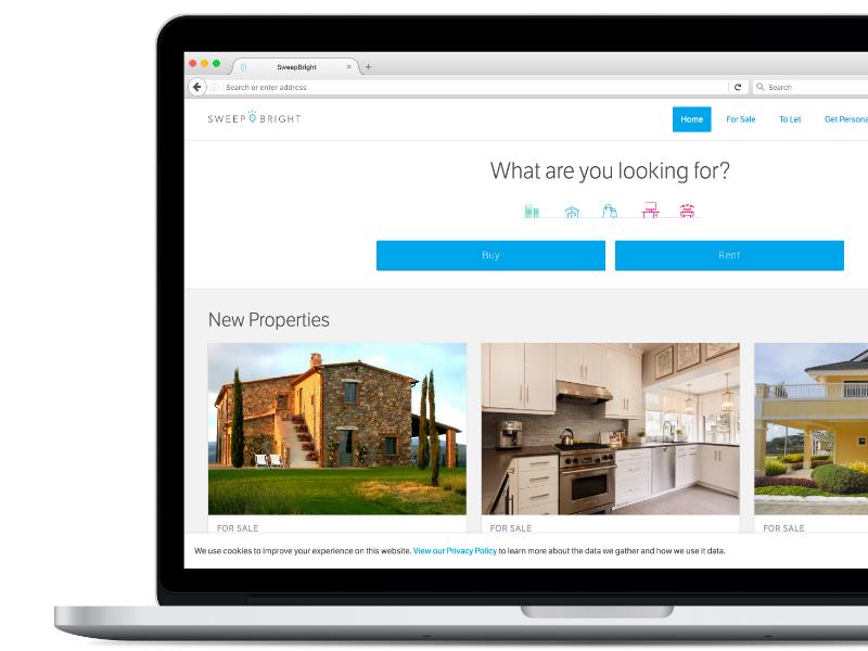 SweepBright Agency Site by Xavier Bertels | Dribbble | Dribbble
