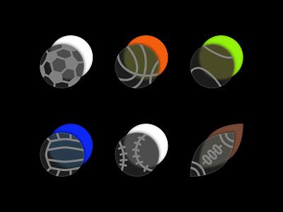 Sports Badge Glassmorphicon olympic sports ui icon set iconography glassmorphism graphic design