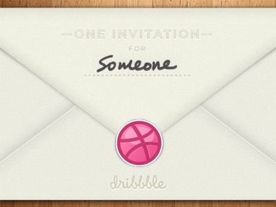 Dribbble Invite Giveaway! texture vector giveaway illustration dribbble