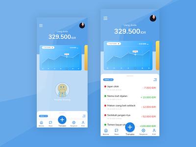 Moma App money card details app ux ui design