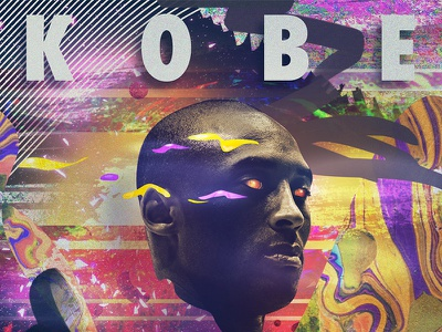 One of the Greatest Of All Time los angeles lakers kobe bryant kobe photoshop graphic design design