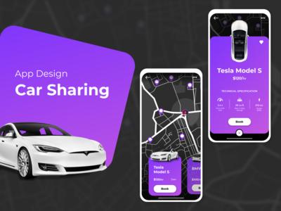 Car Sharing App Design