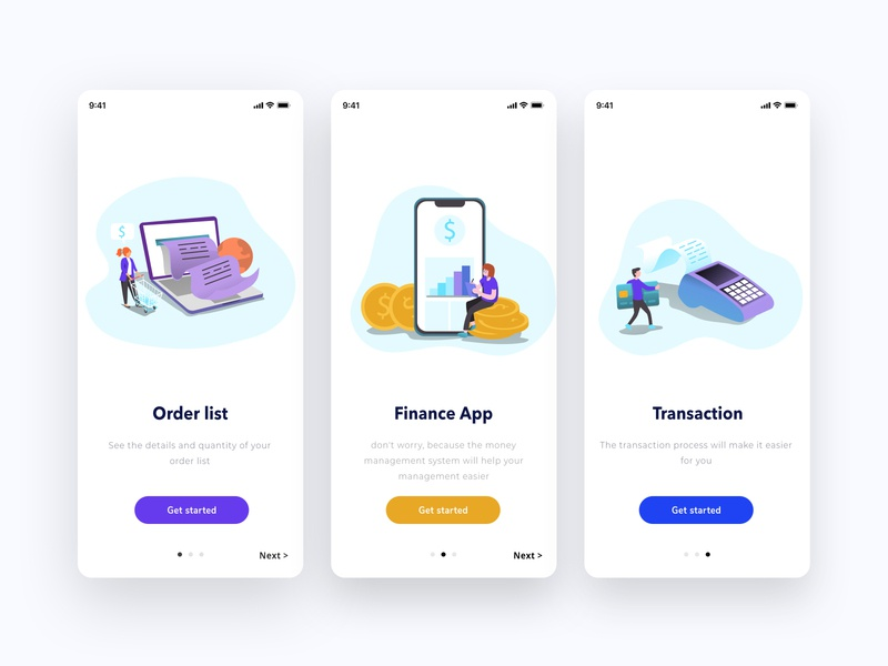 Finance App Mobile jakarta adobe illustrator adobe xd photoshop sketch figma bank app finance bank ui design web ux flat ui illustrator branding vector art design illustration