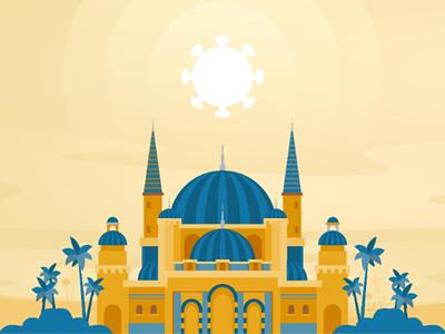 My Ramadhan with Covid-19 illustration ramadhan covid19
