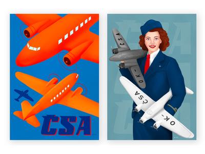 CSA History-Anniversary Posters